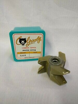 Grizzly Carbide Tipped Shaper Cutter G1559 New In Box