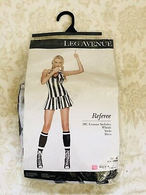 Referee Costume Leg Avenue Sz. M/L (Leg Avenue Referee Costume)
