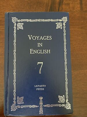 Voyages in English 7 Grammar Text Book Lepanto Press Hardcover