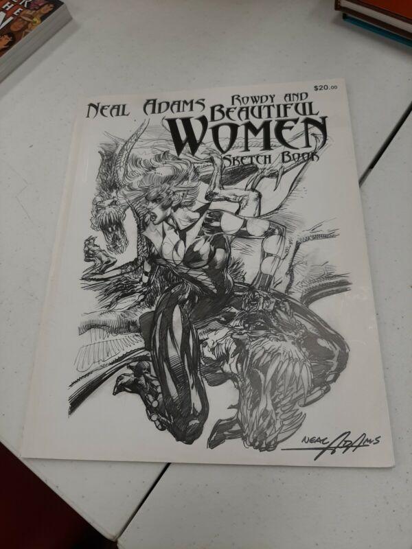 Neal Adams: Rowdy & Beautiful Women Sketchbook - Signed - Rare