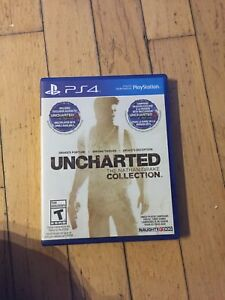 Uncharted 1,2,3 and 4