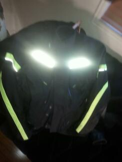 BRAND NEW MOTOR BIKE JACKET & PANTS /JEANS -SIZE LARGE - $80 PAIR