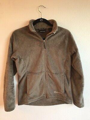 Flair Fleece Jacket - Marmot Flair Jacket sz M brown fuzzy full zip front  pockets fleece Women's