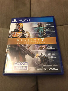 Destiny La Collection PS4 All Dlc