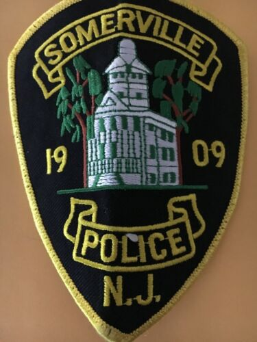 Somerville New Jersey Police Patch