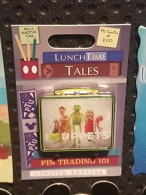 Disney Trading Pin Lunch Box Lunchtime Tales Series The Muppets  November 2018