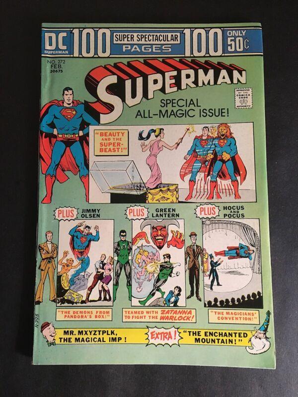 SUPERMAN #272  GIANT SIZE 9.0 VF-NM