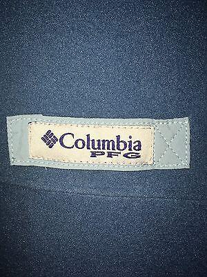 Columbia PFG Performance Fishing Gear Fleece Vest Blue Men's L Large NEW NWT