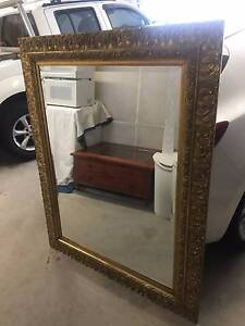 Large Ornate Gold Wall Mirror (1500x1200) Putney Ryde Area Preview