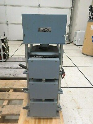 Superior Electric Powerstat Dmf246-3 Variable 3-tier Transformer 0-240 V 15 Amp