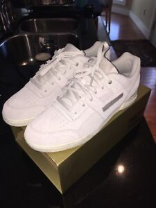 NEW Reebok Workout plus COLLABORATION Montana Cans Original Box