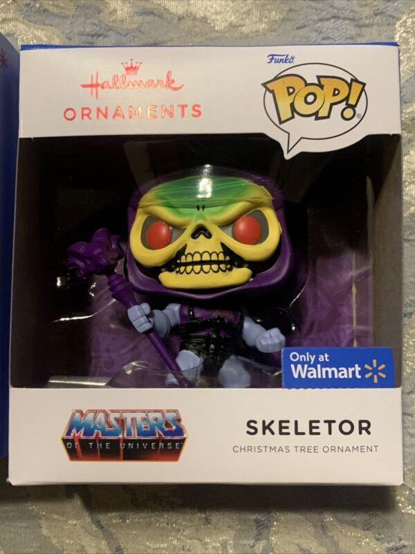 MIB Hallmark 2021 skeletor  Funko Pop Ornament - FREE SHIPPING