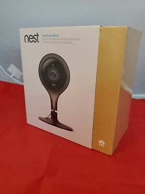 "GOOGLE NEST INDOOR WIFI IP SECURITY CAMERA (BLACK)  MODEL NC 1102EF ""NEW IN BOX"""