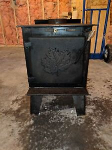 Drolet airtight wood stove woodstove with fan