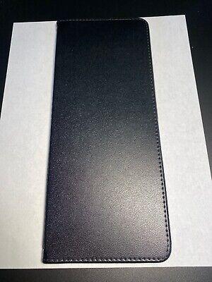 Cardinal Card Holder Business 48 Card Cap  10 14x4-38 Vinyl Black