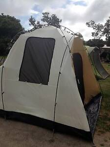 Nomad four person tent with vestibule Glandore Marion Area Preview