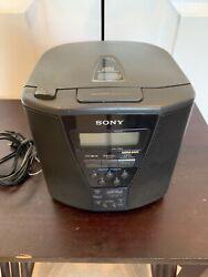 Sony ICF-CD833 AM/FM/CD Alarm Clock Radio w/Mega Bass