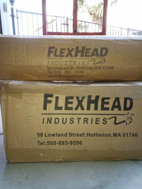 "(25) flexhead fire sprinkler 36"" hoses 1""×1/2"" mxf with (25) 24"" brackets"