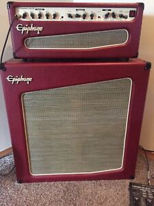 Epiphone Triggerman 100H DSP Amplifier and 4X12 Cabinet
