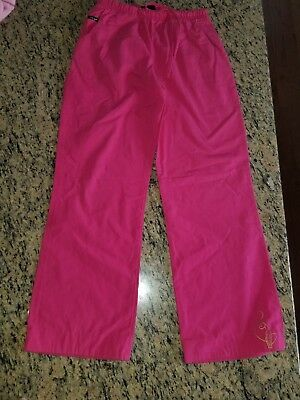 "Women's Clothing Pink Trousers Chinos Size 12 Regular 30"" Leg New Pants"