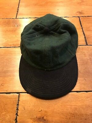 save off f0399 0641a VINTAGE RARE BASEBALL CAP HAT ARCYLIC   WOOL BLUE AND GREEN