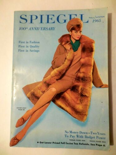 SPIEGEL CATALOG Vintage 1965 Fall Winter Catalogue Book ~ EUC