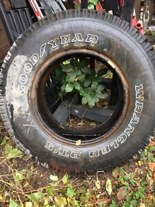 One truck tire