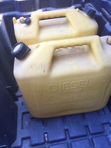 Gas cans, storage bins , cushion bins or more