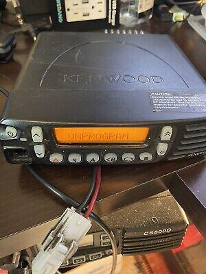 Kenwood Tk-8180-k Mobile Two-way Radio Fm Transceiver -tk8180k Uhf