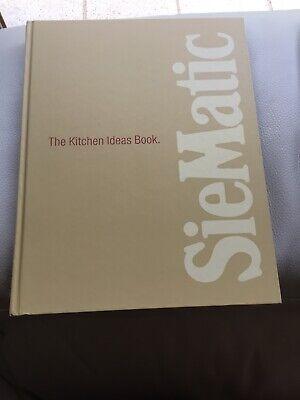THE KITCHEN IDEAS BOOK by SIEMATIC BRAND NEW tweedehands  verschepen naar Netherlands