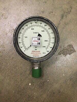 Ith 0-20000 Psi 0-1400 Bar En837-1 High Pressure Gauge For Enerpachytorc