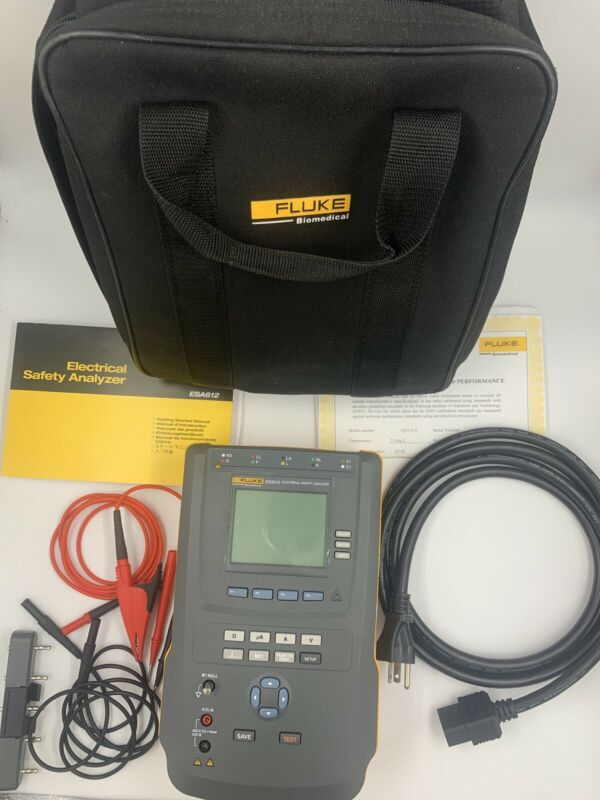 CALIBRATED Fluke ESA612 Electrical Safety Analyzer Biomedical Equipment Tester