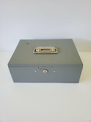 Buddy Products Vintage Cash Change Metal Box Money Tray Usa No Key