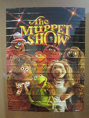 Vintage 1976 The Muppet Show poster muppet characters 4698