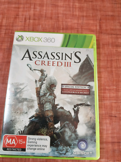 Assassins creed 3  (for xbox 360)