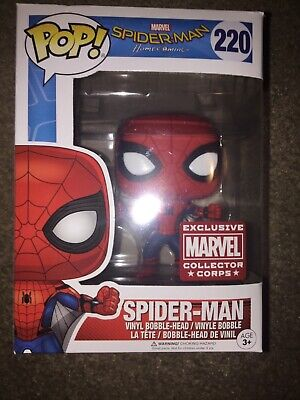 FUNKO POP SPIDERMAN HOMECOMING COLLECTORS CORP