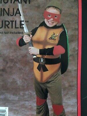 1989/ teenage mutant ninja turtles collegeville costume rare vintage NOS