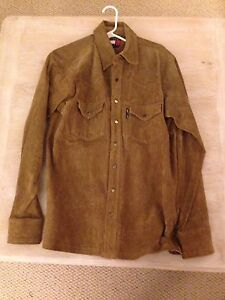 Tommy Hilfiger Jeans Suede Jacket/Coat - Small