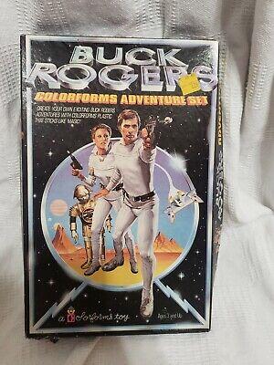 Vintage Buck Rogers Colorform Set 1970's