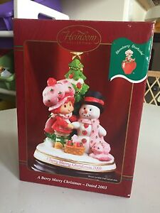 Strawberry Shortcake Carlton Cards Christmas Decoration