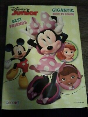 Disney Junior Gigantic Coloring Book Minnie Mouse - Minnie Mouse Coloring