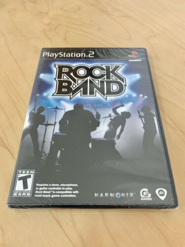 Rock Band New Factory Sealed Playstation 2 PS2 Rare Video Game - $9.10
