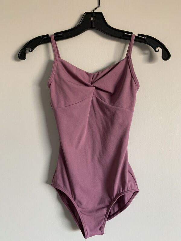 Chacott Leotard Dusty Pink Size Small (Yumiko Microfiber Quality)