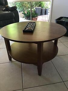 Round coffee table Karalee Ipswich City Preview