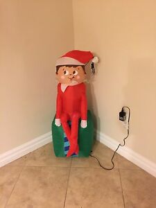 Blow up Elf on the Shelf