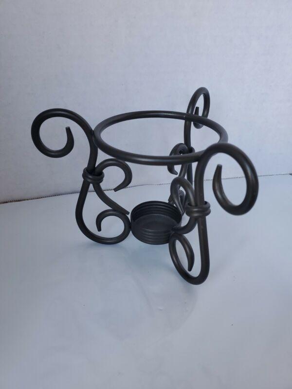 PartyLite Antique Brass Aroma Melts Holder, P8016 only holder