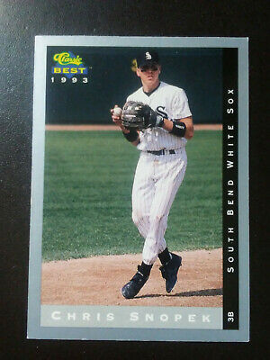 Chris Snopek Rookie-1993 Classic Baseball-nr.mint-no.145-South Bend -
