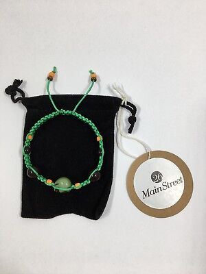 26 Main Street - Halloween Adjustable Skull and Charm Macrame Bracelet - 26 Halloween