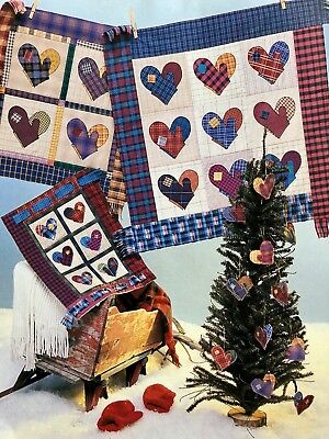(Around the Block Quilt Designs Pattern #119 SMITTEN - Clever Pattern Design Easy)