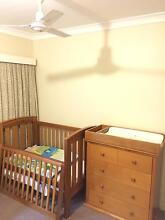 Cot and matching drawers/change table Middlemount Isaac Area Preview